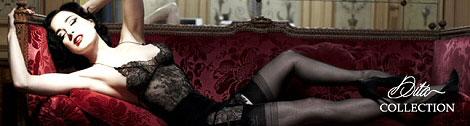 The Dita Von Teese stockings collection