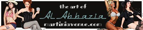Website banner for Martini Avenue - The art and Photography of Al Abbazia