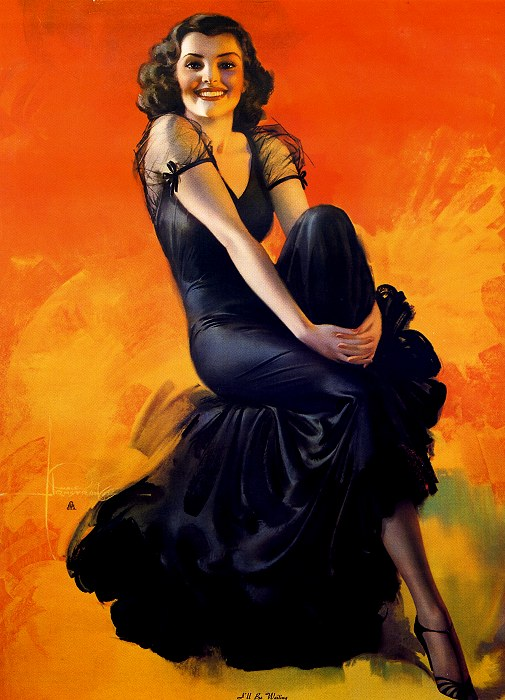 rolf armstrong pin up girls the pin up files
