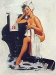Joyce Ballantyne pinup girl picture