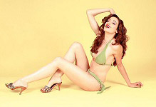 Danielle Bedics  pinup girl picture