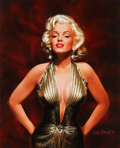 Dick Bobnick - pin-up artist