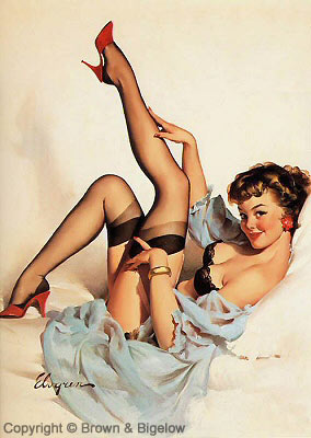 Gil Elvgren - pin-up girl