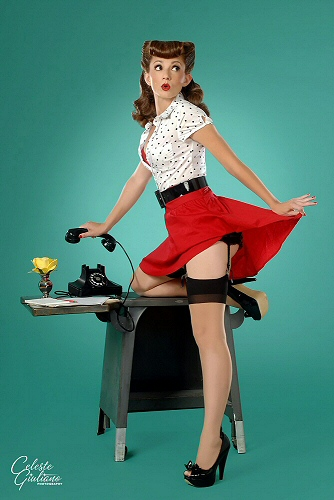 Celeste Giuliano - Pin-up photographer