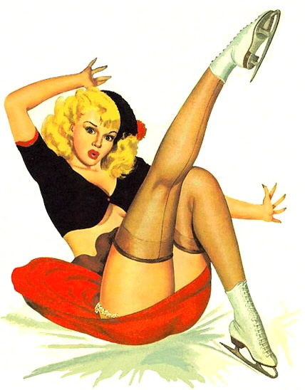 Peter Driben pin-up Girl