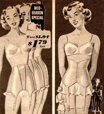 vintage girdles