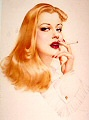 Alberto Vargas : pin-up print for sale