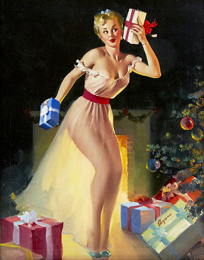 Gil Elvgren vintage pin-up artist
