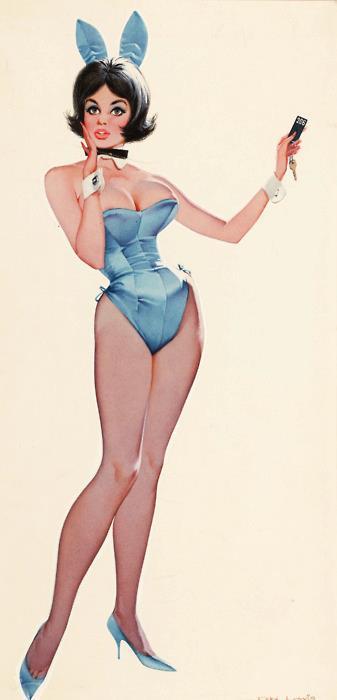Don Lewis Playboy Bunny pin-up