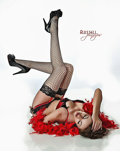 Dan Russell contemporary pin-up photographer