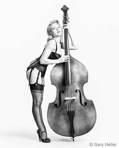 Gary Heller contemporary pin-up photographer