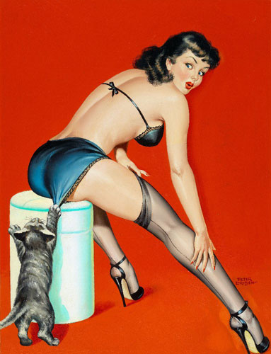 Peter Driben vintage pin-up artist