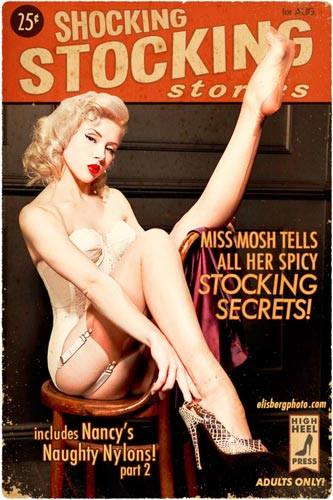 Mosh - pinups in stockings