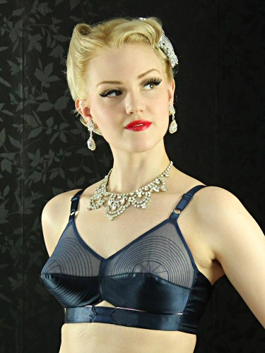1950s style bullet bra from What Katie Did