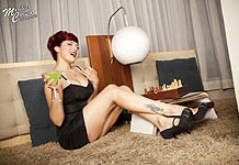 Marilee Caruso pinup photo