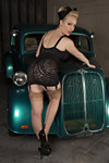 Claire Seville pinup girl
