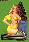Peter Driben pinup art