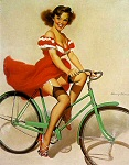 Harry Ekman pinup girl
