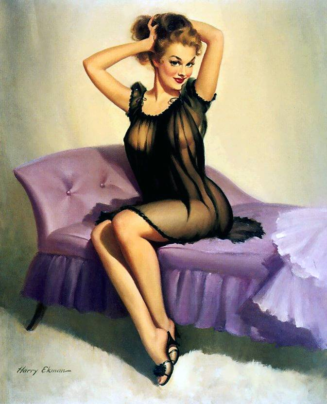 Pin up girls pics — img 3