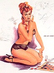 Freeman Elliot pinup girl picture