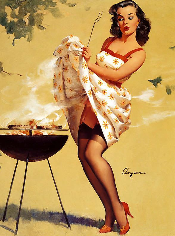 Gil Elvgren Pin up Girls Gallery 6 The Files