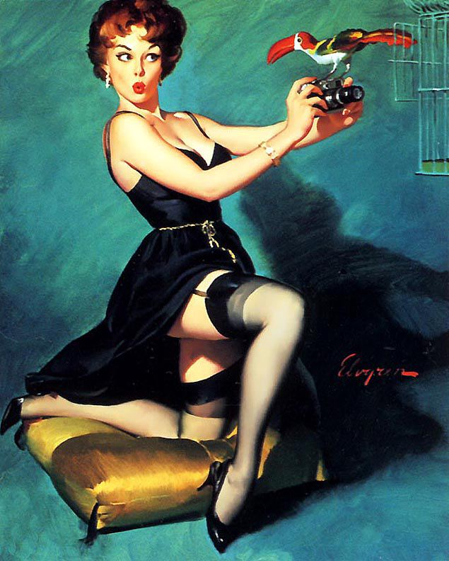 Gil Elvgren pin-up girls - gallery 9   The Pin-up Files