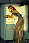 Art Frahm pinup girl