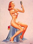 Pearl Frush pinup girl picture