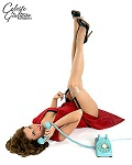 Celeste Giuliano pinup girl picture