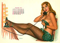Al Moore pinup picture