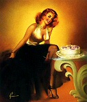 Edward Runci pinup girl