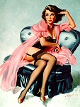 Donald Rust pinup girl image