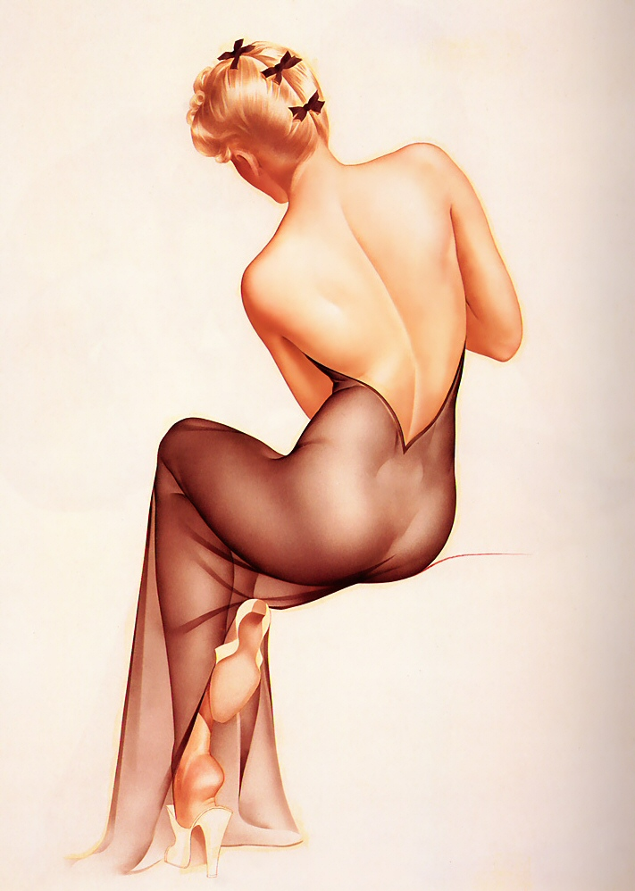 Vintage playboy pin up