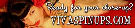 Vivas Pinups - the website of Viva Van Story