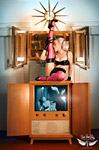 Viva Van Story pinup photo of model Jenna LaVie