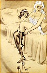 Bill Ward pinup girl