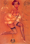 Fritz Willis pinup girl